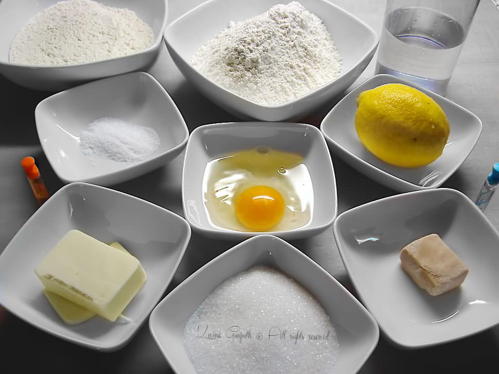 Ingredienti base di cucina per prodotti da forno for Prodotti da cucina