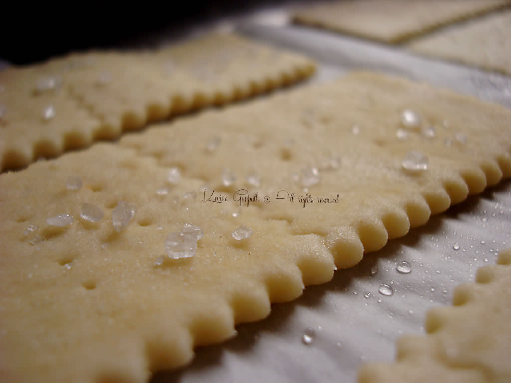 crackers fatto in casa