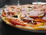 pizza con porchetta